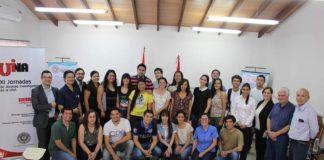 Jóvenes investigadores de la UNA