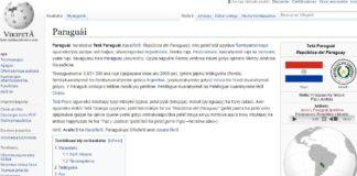 wikipedia Guaraní