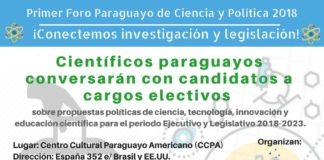 ciencia y politica paraguay