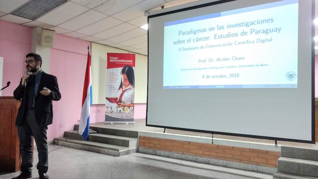 investigación cáncer paraguay